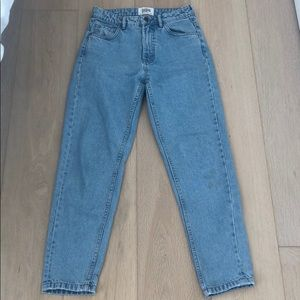 Zara TRF Light Blue Mom Jeans